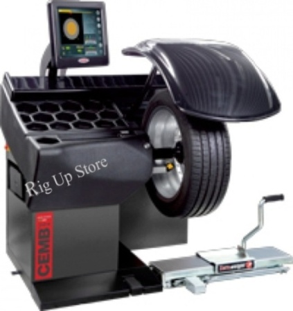 Touch Video Wheel Balancer  Diagnostic Center