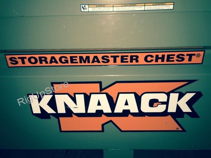 knaack logo. knaack storagemaster chest model 69 60`` x 36`` 30`` logo