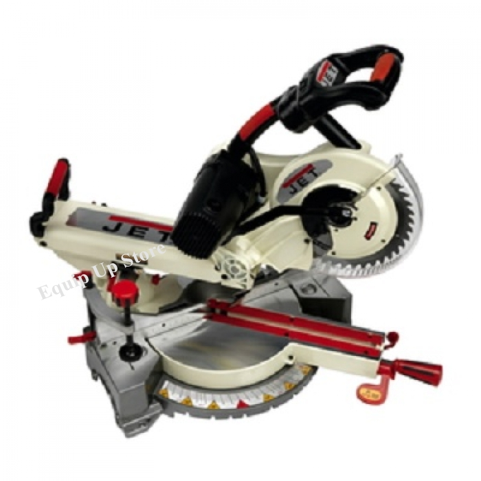 JET 10 Inch Compound Miter Saw, With Green Laser Cutting Guide