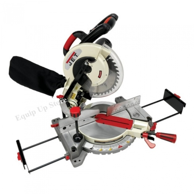 JET 10 Inch Compound Miter Saw, Laser Cutting Guide  Extension Wings