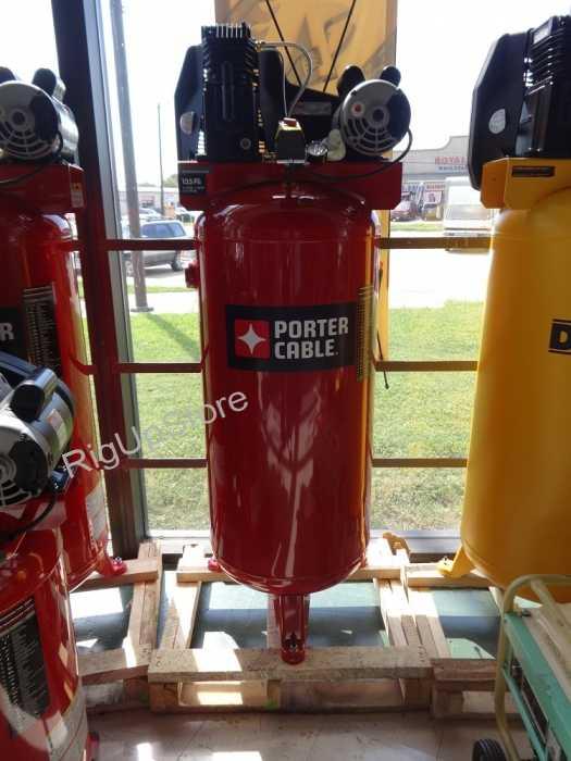 porter cable 60 gallon portable vertical air compressor