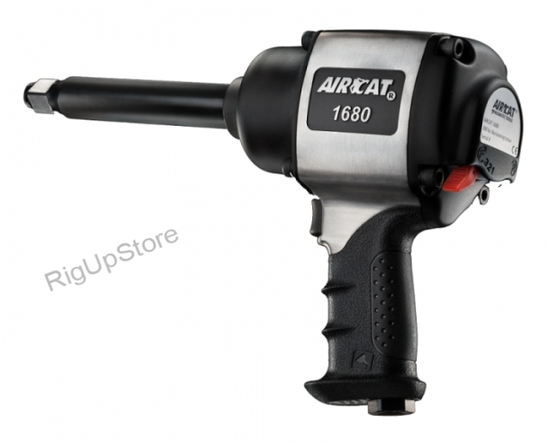 Aircat 1680-6 3/4 Drive Xtreme Duty Impact Wrench Extended Anvil