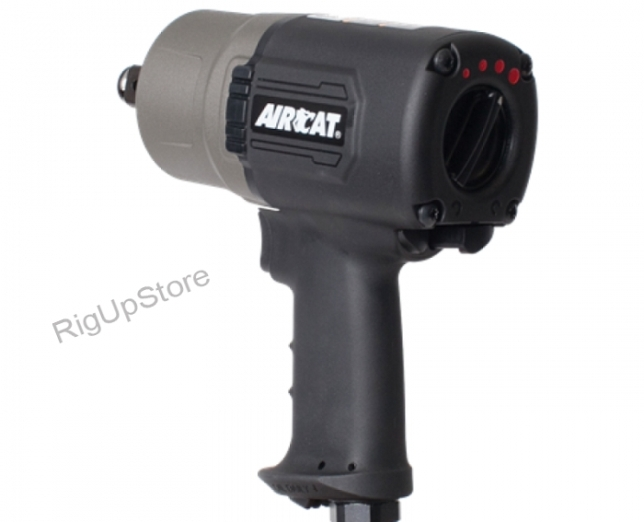 AirCat Super Duty Composite Impact Wrench — 3/4in. Drive, Model# 1600-TH