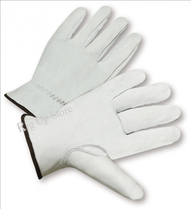 Goatskin Leather Driver Gloves with cut resistant lining