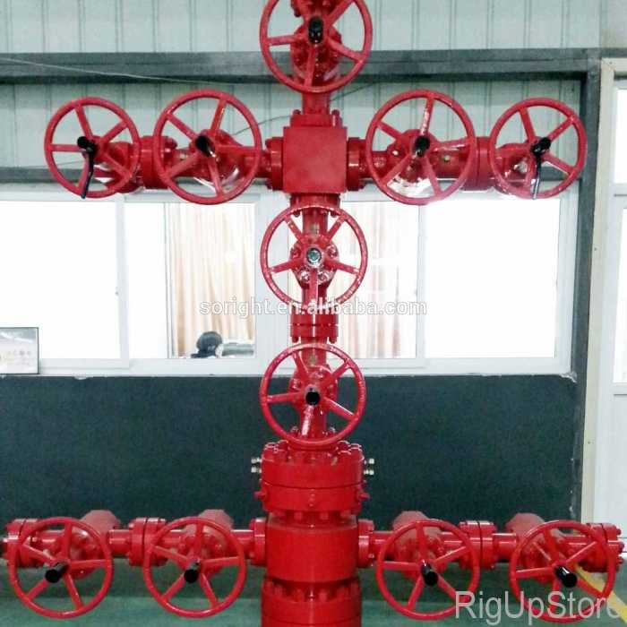 Wellhead Christmas Tree Diagram: Wellhead Equipment Christmas Tree